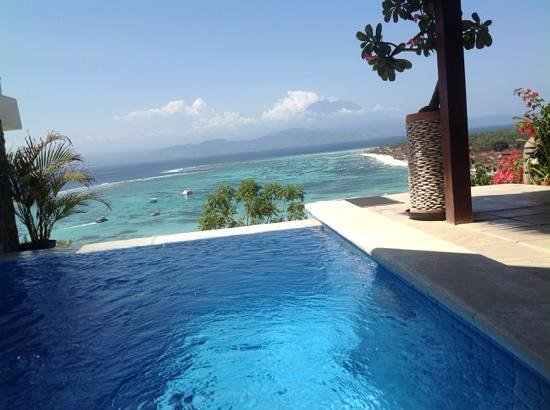 Lembongan Harmony Villas: superb view.