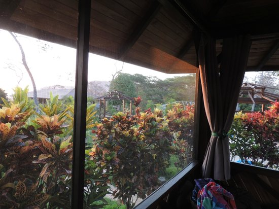 Lodge Margouillat : Vue de la chambre