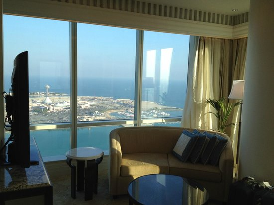 The St. Regis Abu Dhabi: View from the living room