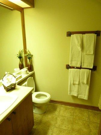 Paradise Lodge & Bungalows: Bathroom