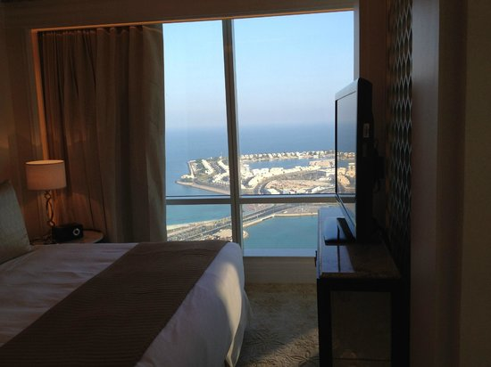 The St. Regis Abu Dhabi: View from the bedroom