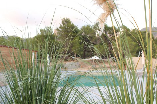 Awa Natura: the pool area, very nice and relaxing