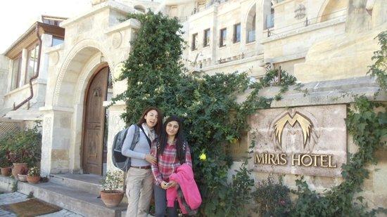 Miras Hotel: MAIN ENTRANCE