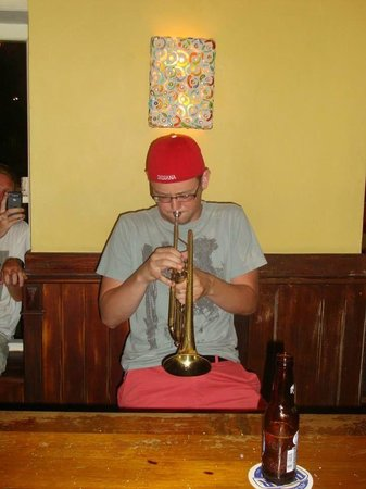 Miles Jazz Cafe: Trumpet surprise!
