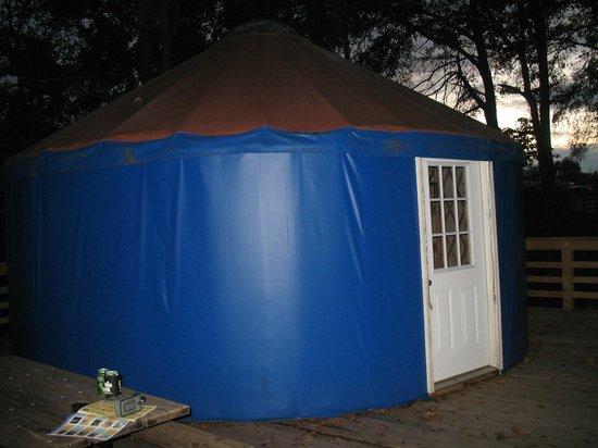 Catherine's Landing, an RVC Outdoor Destination: Yurt 6 sleeps 8