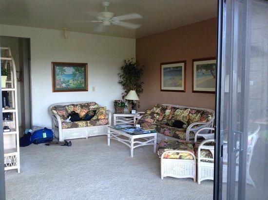 Castle Kaha Lani: Livingroom