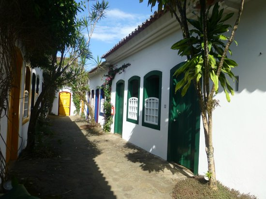 Pousada do Ouro : Some of the rooms in the annex