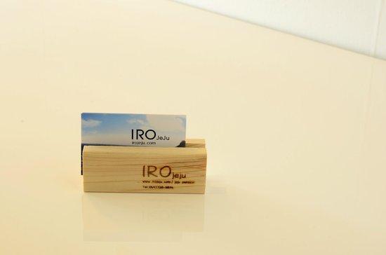 IRO JeJu: Business Card
