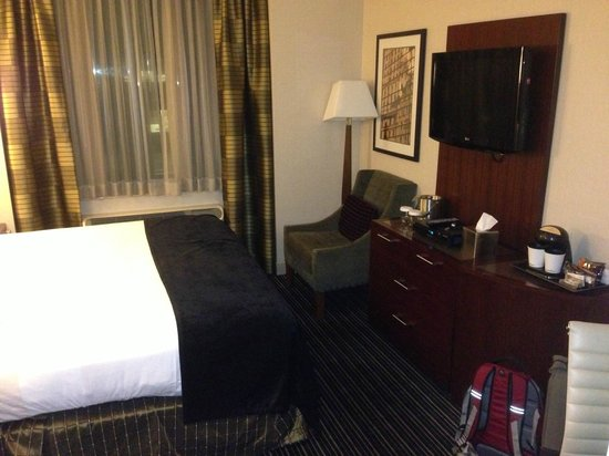 DoubleTree by Hilton Hotel New York City - Financial District: Small room but well appointed