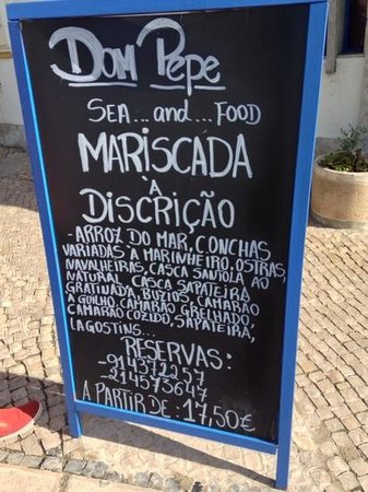 Dom Pepe Restaurante : Excelent crawfishplate
