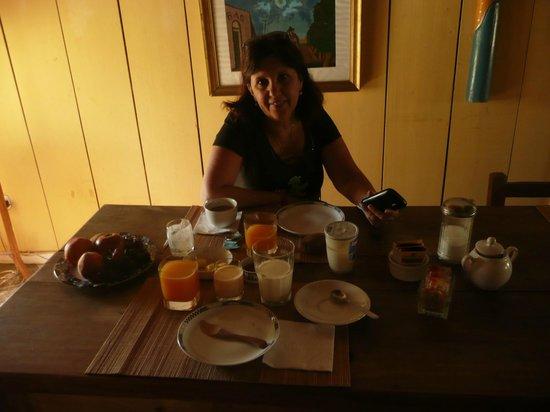 Kâma - Loka : Desayuno