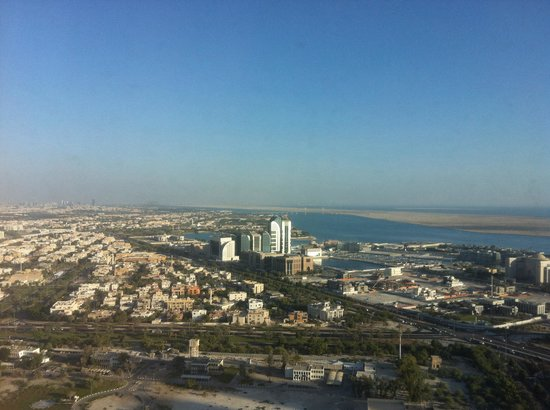 The St. Regis Abu Dhabi: City view from 34th floor