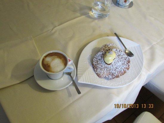 Ristorante La Grotta: Nice and delicious coffe & dessert
