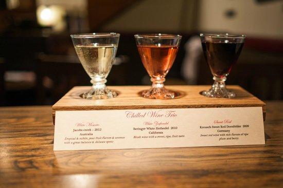 Weston Station: Chilled Wine Trio