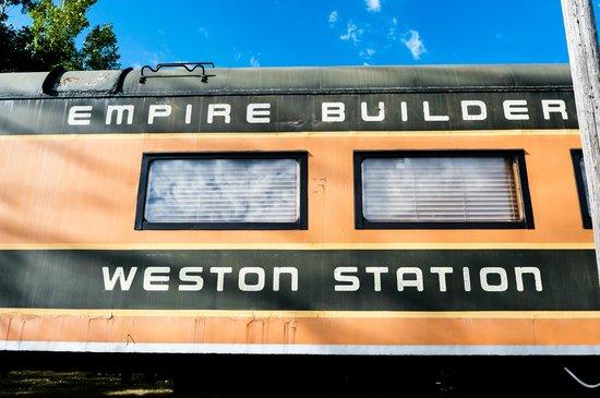 Weston Station Train Car