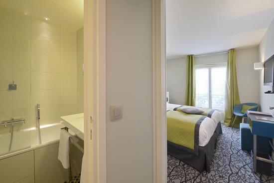 Salle De Bain Ouverte Sur Chambre Humidite : Hotel Le Mareuil Paris