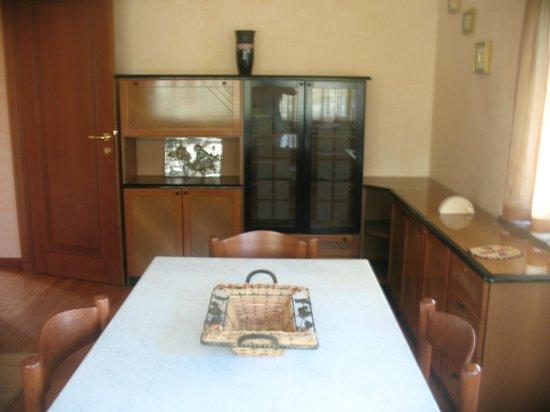 B&B Villa Maria: cucina soggiorno