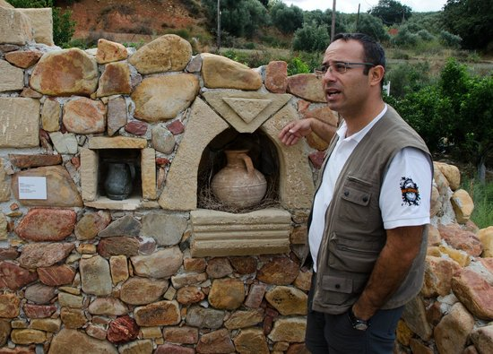 Safari Adventures: Manos telling about cretes' old way of life