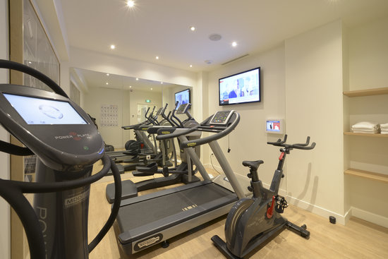 Le Mareuil: Fitness Room