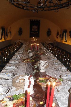 Al Castello Mio : La Sala della Mangiatoia