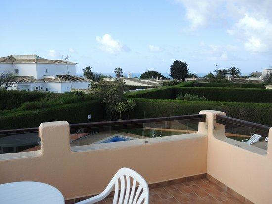 Canavial I & II Apartments: Вид с балкона