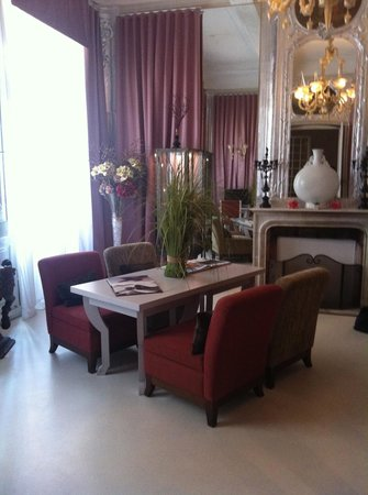 L'Hotel Particulier 28 a Aix : the lounge