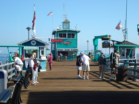 Catalina Island Visitor Center : The Pier in Catalina