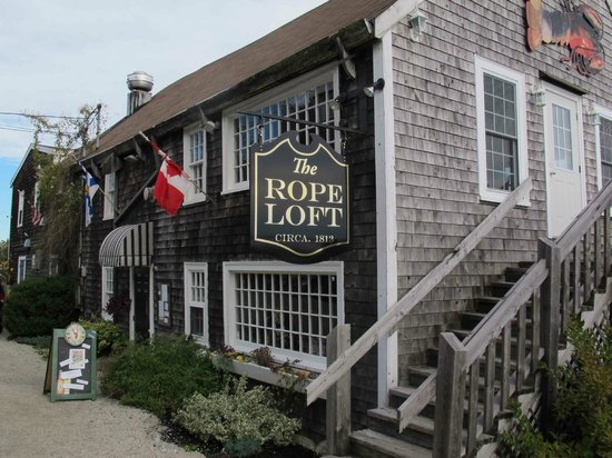 Rope Loft Dining Room: Outside of restaurant