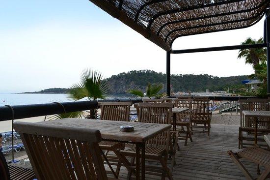Larissa Akman Park : пляжное кафе (бар рядом)
