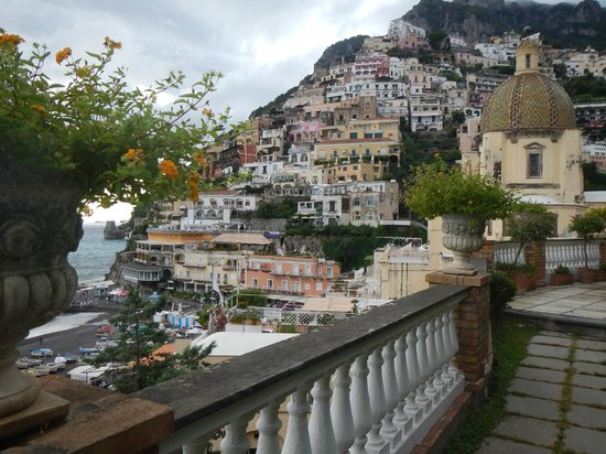 Hotel Buca di Bacco: The view from our patio