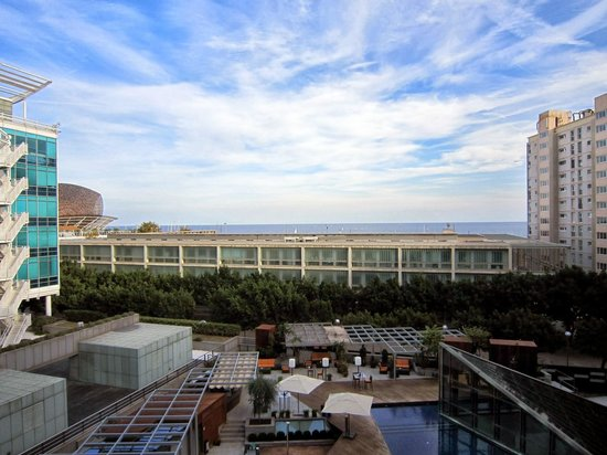 Pullman Barcelona Skipper : View from our room