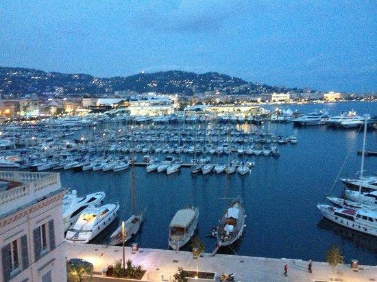 Radisson Blu 1835 Hotel & Thalasso: Вид с балкона