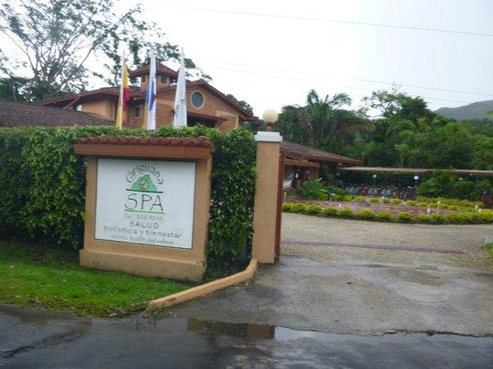 Cariguana Spa: la entrada del SPA!