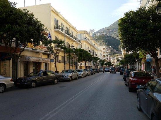 Hotel Possidonion : Улица