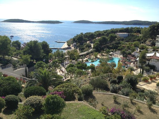 Amfora Hvar Grand Beach Resort: The view from the sea view