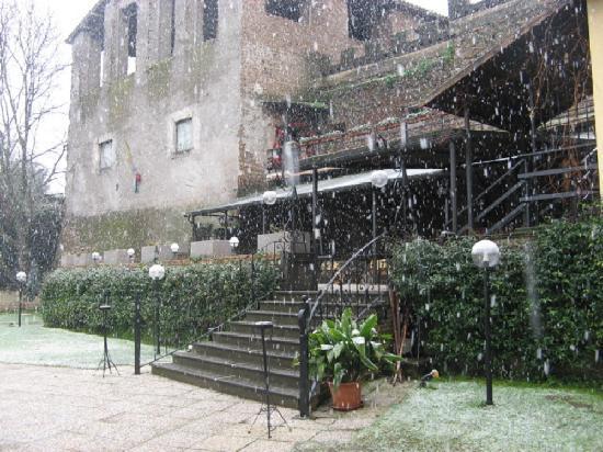 Al Castello Mio: Sotto la neve