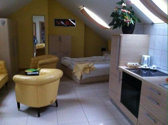 Hotel du Faucon: Suite