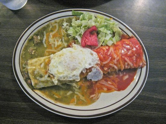 Nellie's Cafe: Smothered Burrito