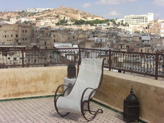 Riad Medina: Views of the medina from the terrace