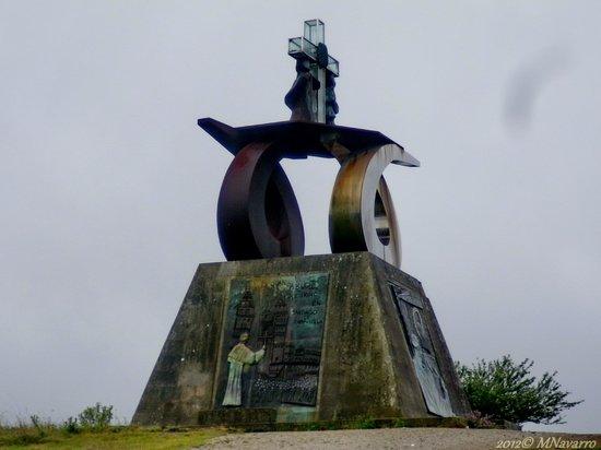 Monte do Gozo: Monumento a la visita del Papa