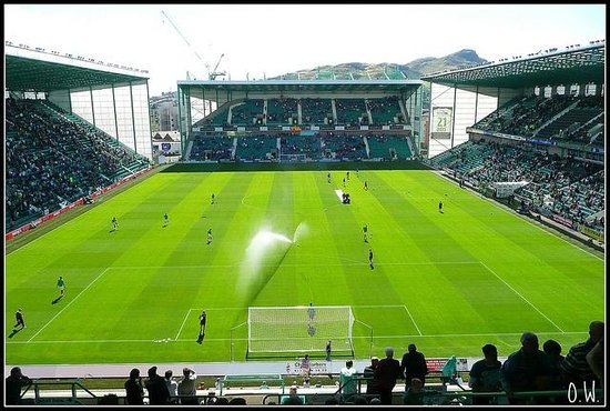 Easter Road Stadium: View from Famous Five Stand