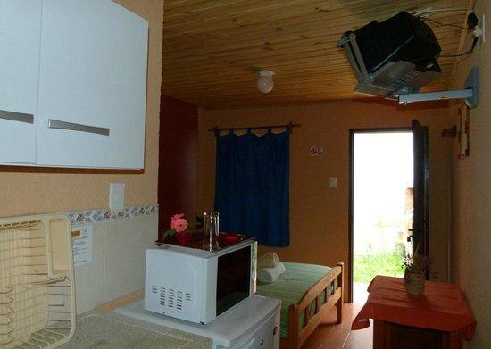 Aguas Dulces, أوروجواي: Vista parcial de un apartamento/monoambiente