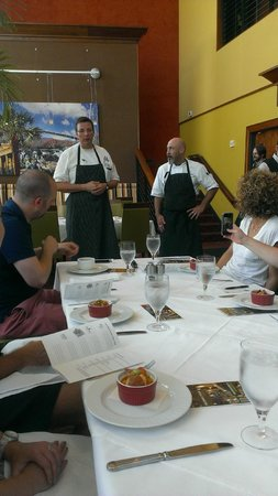 Greenville History Tours: Chefs greet guests at High Cotton