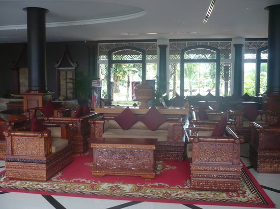 Pacific Hotel & Spa: The lobby of the hotel