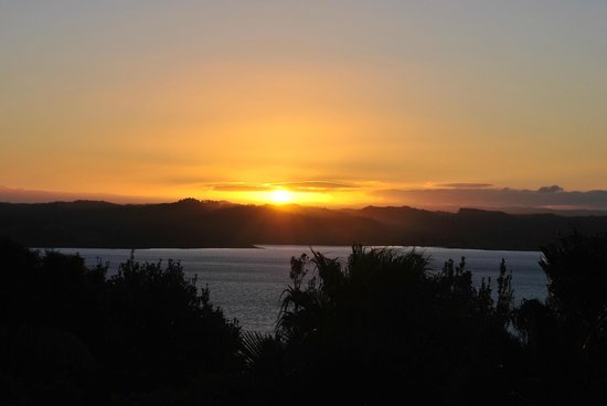 Eagles Nest: Sunset View from the Patio