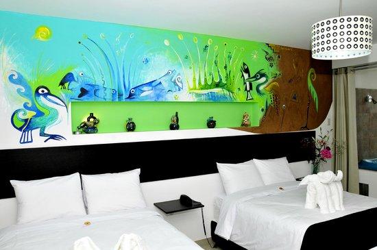 Mochican Palace Hotel: Habitación Boble Vista al mar