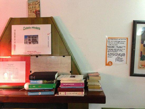 Albergo ai 4 Camosci: filosofia del leggere
