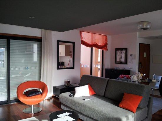 Hotel Baia da Luz: living room