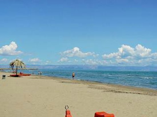 Margherita di Savoia, Italie : spiaggia