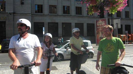 Segway Rent Prague : passeio de segwey